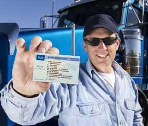 личная карточка водителя