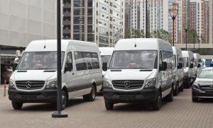 Установка ГЛОНАСС мониторинга на 20 автобусов Mercedes Benz Sprinter