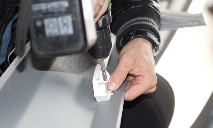 Установка датчика пассажиропотока на Mercedes Benz Sprinter