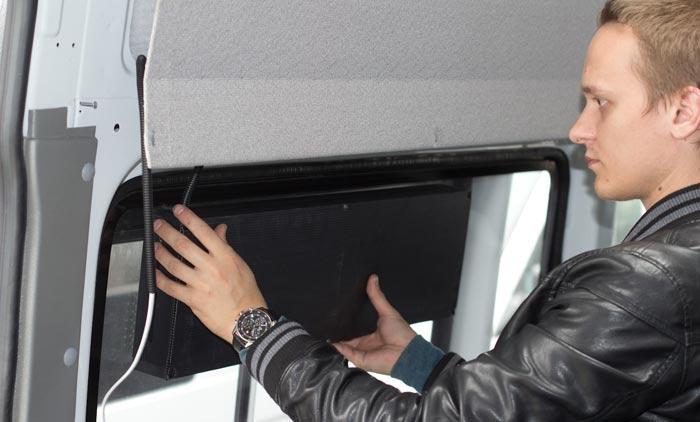 Установка светодиодного табло на Установка ГЛОНАСС мониторинга на 20 автобусов Mercedes Benz Sprinter