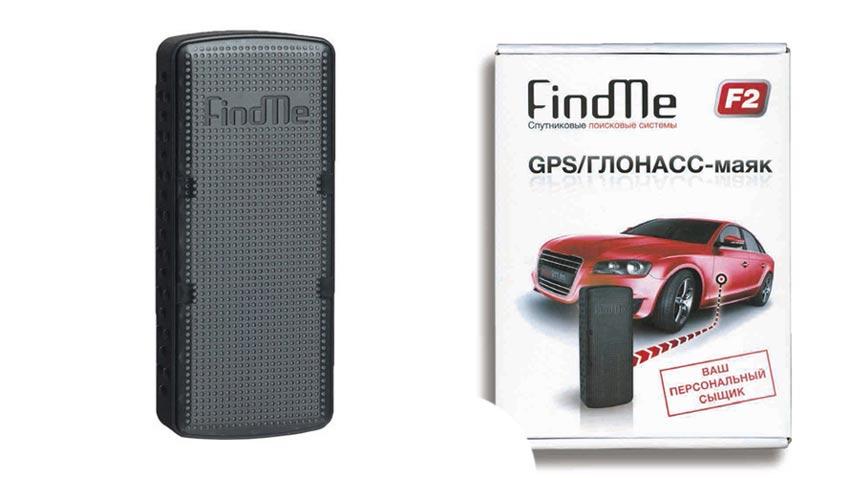 GPS маяк для машины find-me