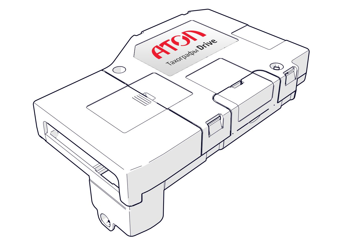 Устройство для тахографа Smart Box от АТОЛ Drive