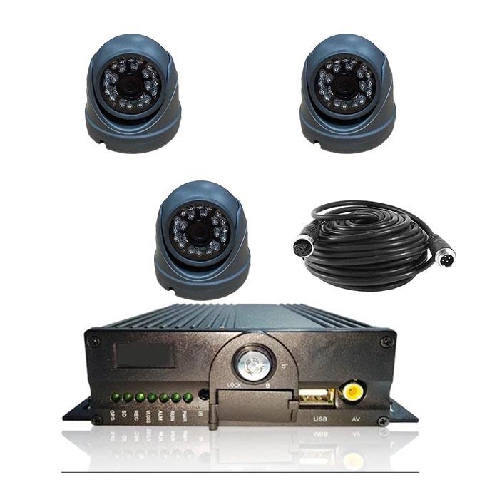 Комплект видеонаблюдения для автобуса HD-2