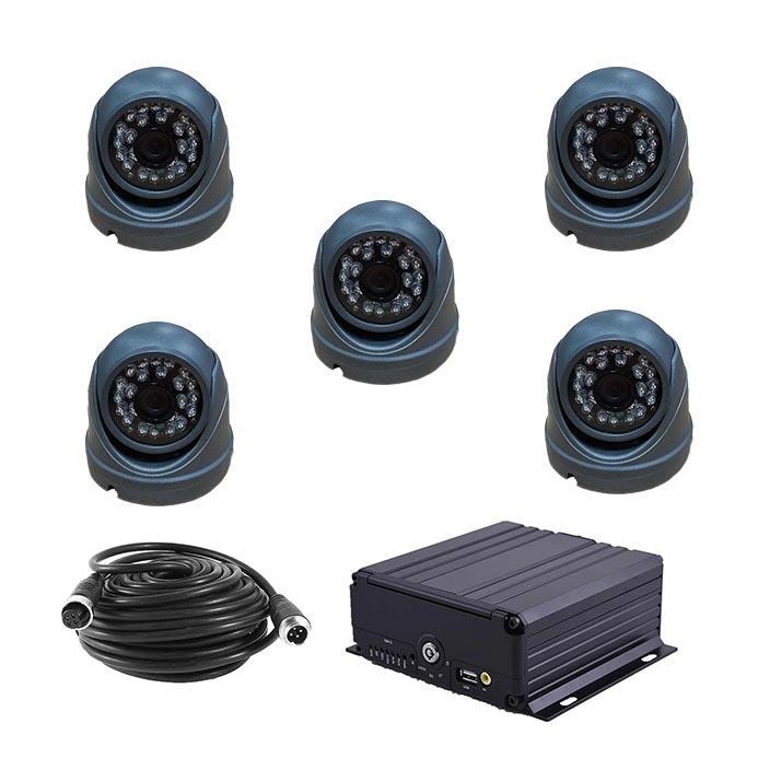 Комплект видеонаблюдения для автобуса HD-3