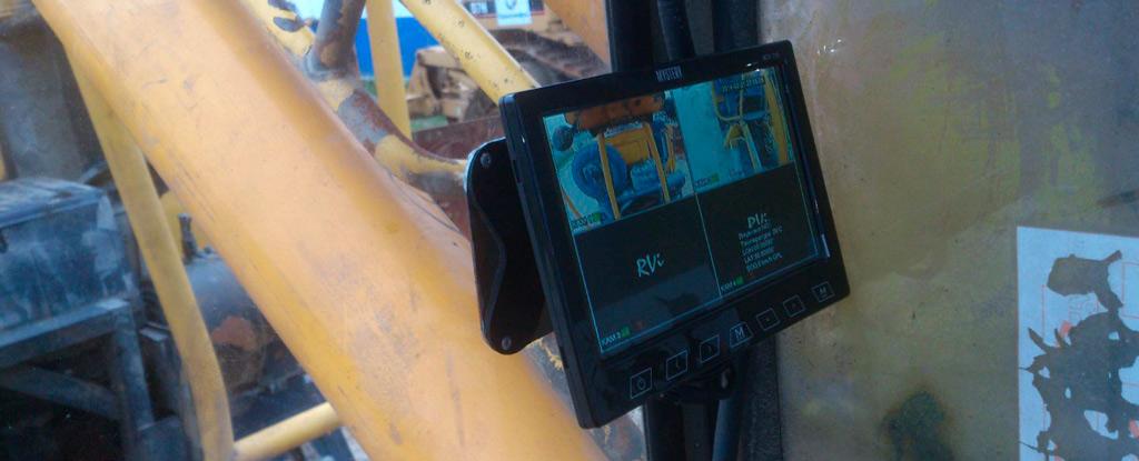 камера на экскаватор