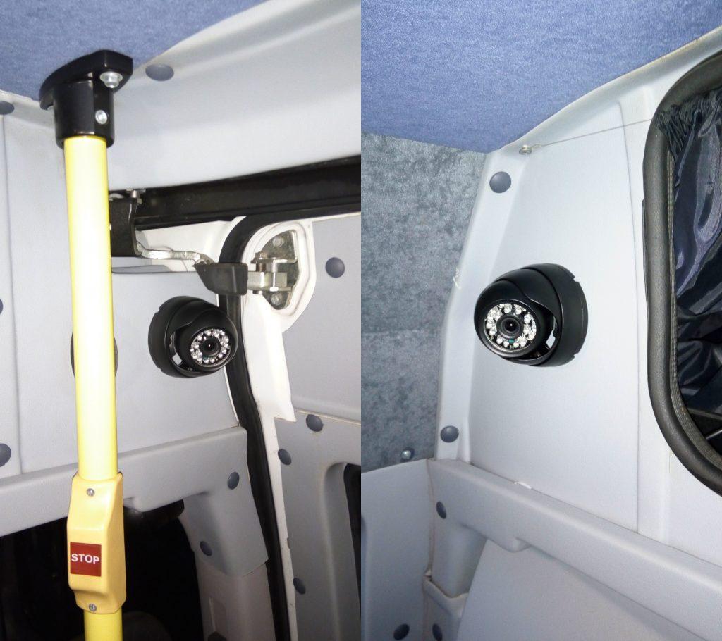 камера в салоне автобуса