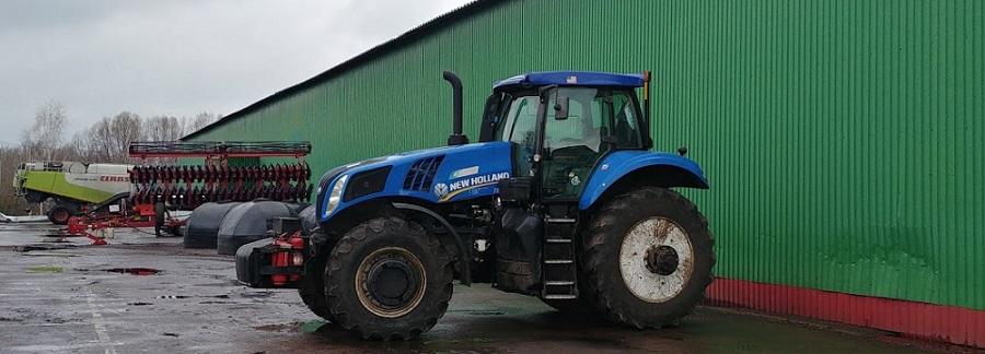 контроль расхода топлива на тракторе