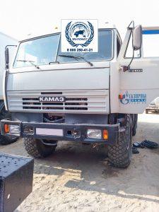 Установка блока мониторинга ГЛОНАСС, ДУТ и тревожной кнопки на КАМАЗ Фургон